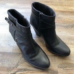 BOC black ankle boots